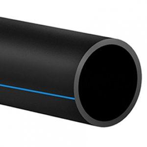 Полиэтиленовая труба — 125 мм.